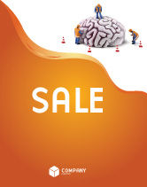 Construction: Smart Thinking Sale Poster Template #04279