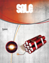Military: Dynamite Sale Poster Template #04287