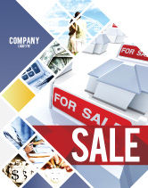 Construction: Real Estate In Massive Sale Sale Poster Template #04307