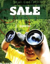 Education & Training: Scout Sale Poster Template #04310
