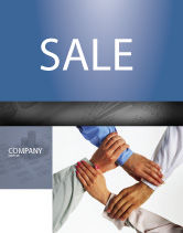 Consulting: Mutual Responsibility Sale Poster Template #04311