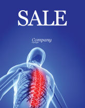 Medical: Osteoporosis Sale Poster Template #04334