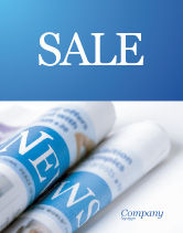 Careers/Industry: New Press Sale Poster Template #04346
