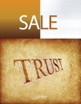 Financial/Accounting: Trust Sale Poster Template #04364