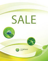 Nature & Environment: Conceived Life Sale Poster Template #04383