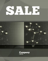 Education & Training: Chemical Composition Sale Poster Template #04386
