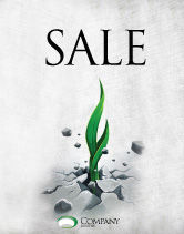 Nature & Environment: Survival Sale Poster Template #04395