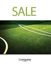 Sports: Football Duel Sale Poster Template #04410