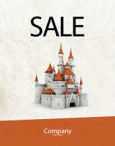 Construction: Castle Sale Poster Template #04419