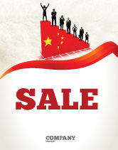 Careers/Industry: Chinese Economy Sale Poster Template #04423