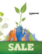 Nature & Environment: Ökologie gebäude Plakat Vorlage #04438