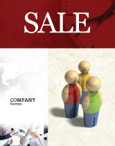 Consulting: Staff Sale Poster Template #04455