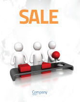 Education & Training: Intellectual Test Sale Poster Template #04459