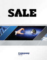 Business: Incomplete Sale Poster Template #04468
