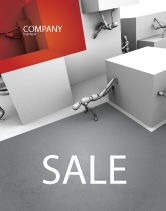Consulting: Different Angle Sale Poster Template #04483