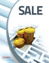 Financial/Accounting: Making Money Sale Poster Template #04511
