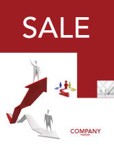 Consulting: Enhancing Careers Sale Poster Template #04512