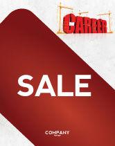 Careers/Industry: Career Building Sale Poster Template #04528