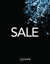 Nature & Environment: Water Drops Sale Poster Template #04555