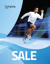 Sports: Endeavour Sale Poster Template #04561