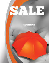 Business Concepts: Distinguished Sale Poster Template #04584