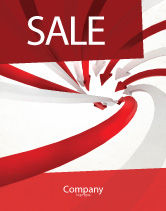 Consulting: Vortex Sale Poster Template #04585