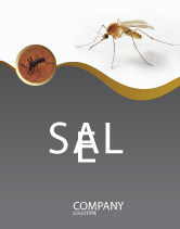 Agriculture and Animals: Mosquito Sale Poster Template #04599