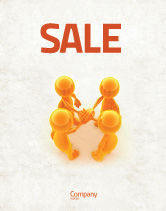 Consulting: Unanimity Sale Poster Template #04601