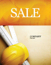 Construction: Foreman Sale Poster Template #04611