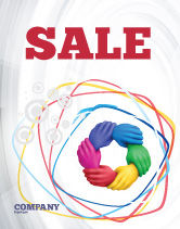 Religious/Spiritual: Peoples Diversity Sale Poster Template #04673