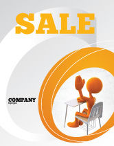 Education & Training: Good Pupil Sale Poster Template #04715