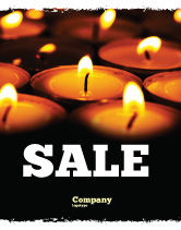 Religious/Spiritual: Religious Service Sale Poster Template #04743