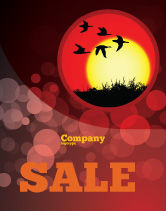 Nature & Environment: Flock Sale Poster Template #04746