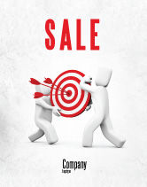 Business Concepts: Target Point Sale Poster Template #04751