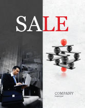 Business Concepts: Performance Management Sale Poster Template #04761