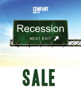 Financial/Accounting: Recession Sale Poster Template #04847
