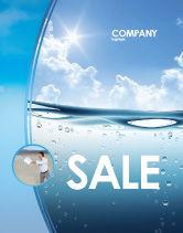 Careers/Industry: Modello Poster - Onda di acqua #04866