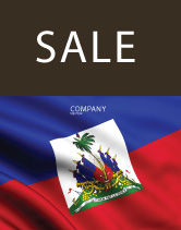 Flags/International: Haiti Sale Poster Template #04875