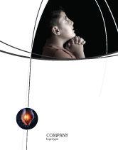 Religious/Spiritual: Prayer Sale Poster Template #04902