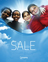 Education & Training: Cultural Diversity Sale Poster Template #04914