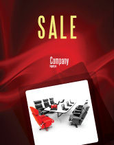 Careers/Industry: Conference Hall Waiting For Business Meeting Sale Poster Template #04923
