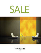 Careers/Industry: Sustainable Design Sale Poster Template #04962