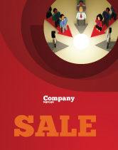 Business Concepts: Common Cause Sale Poster Template #04964