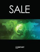 Global: Modelo de Cartaz - web sobre a terra #04970