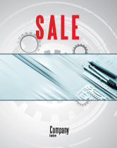 Careers/Industry: Working Drawings Sale Poster Template #04971