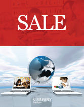 Education & Training: Education and Computer Sale Poster Template #04976
