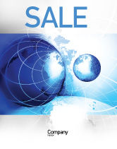General: Two Worlds Sale Poster Template #04987