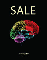 Medical: Brain Centers Sale Poster Template #04990