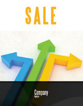 Consulting: Directions Sale Poster Template #05017