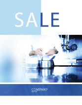 Careers/Industry: Cooking Sale Poster Template #05056